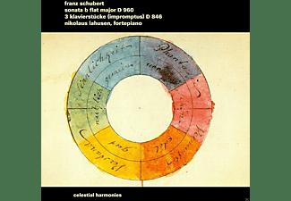 Nikolaus Lahusen - SONATE D.960/KLAVIERSTUECKE, 3  - (CD)