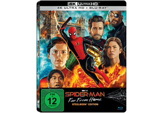 Spider-Man: Far from Home Limited UHD Steelbook [4K Ultra HD Blu-ray + Blu-ray]