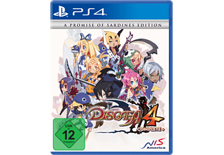 PS4 DISGAEA 4 COMPLETE+A PROMISE OF SARDINES E. - [PlayStation 4]