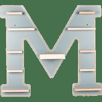 BOARTI Buchstabe M, grau Zubehör für Toniebox, Grau