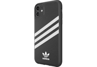 ADIDAS ORIGINALS Moulded Case PU, Backcover, Apple, iPhone 11, Schwarz/Weiß