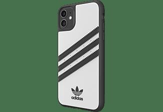 ADIDAS ORIGINALS Moulded Case PU, Backcover, Apple, iPhone 11, Weiß/Schwarz