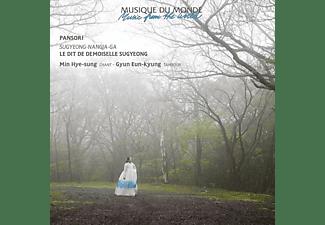 Min Hye-Sung, Gyun Eun-Kyung - PANSORI - LE DIT DE DEMOISELLE SUGYEONG  - (CD)