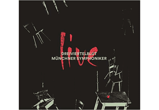 Dreiviertelblut/Münchner Symphoniker - Live (+Poster)  - (CD)