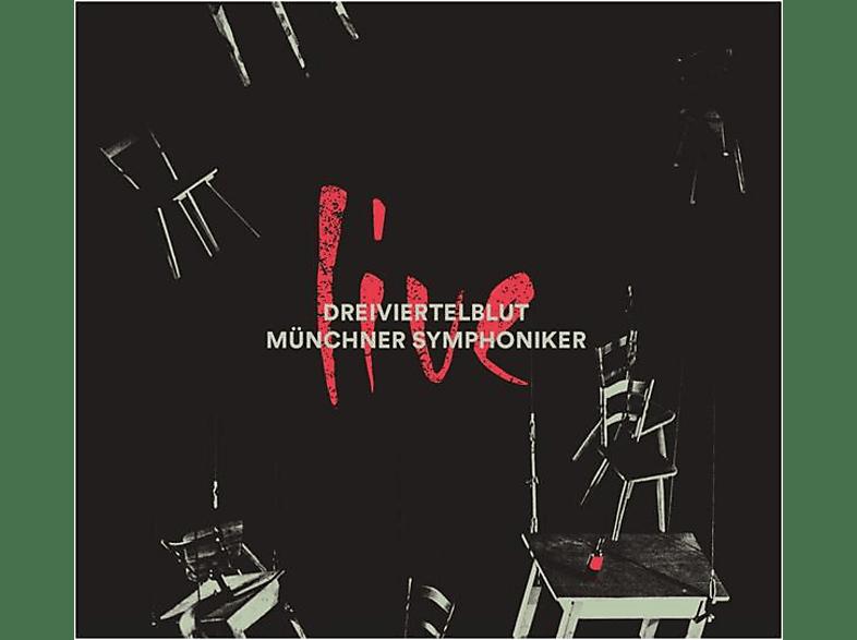 Dreiviertelblut/Münchner Symphoniker - Live (+Poster) [CD]