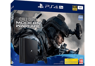 SONY PlayStation 4 Pro 1TB (Inkl. Call of Duty: Modern Warfare)