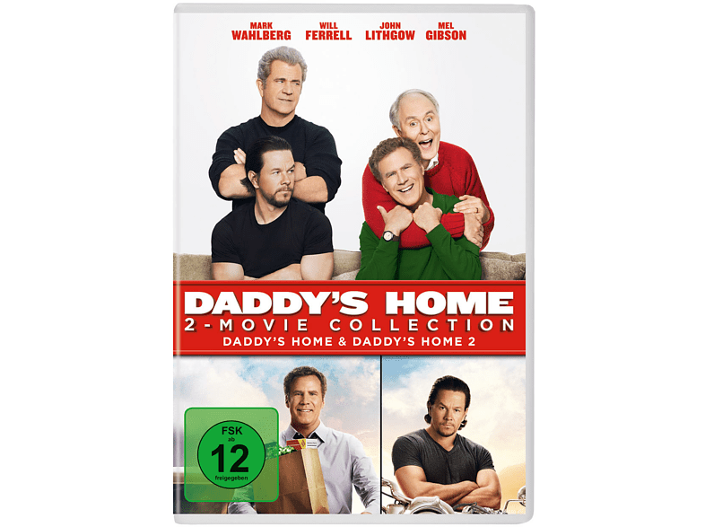 Daddy's Home 1+2 [DVD]