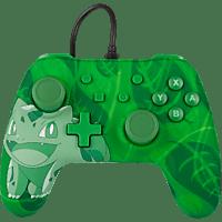 POWER A Nintendo Switch Wired Controller im Pokemon Bisasam Style Controller} Grün