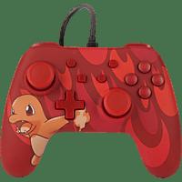 POWER A Nintendo Switch Wired Controller im Pokemon Glumanda Style Controller} Rot