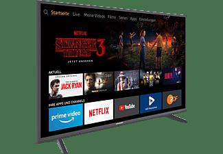 GRUNDIG 55 GUT 7060 - FIRE TV EDITION LED TV (Flat, 55 Zoll / 139 cm, UHD 4K, SMART TV, Fire TV Experience)