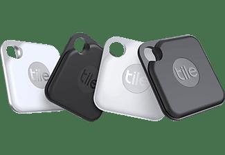TILE Pro+ (4-pack) Bluetooth Tracker Schwarz/Weiß