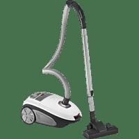 PROFI CARE PC-BS 3041 Staubsauger, maximale Leistung: 600 Watt, Weiß/Anthrazit)