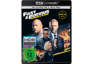 Fast & Furious – Hobbs & Shaw 4K Ultra HD Blu-ray + Blu-ray