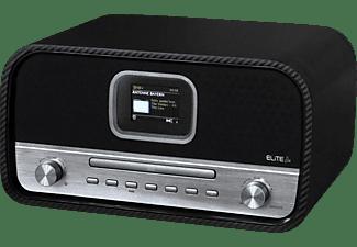 SOUNDMASTER ICD 3030 CA Internet Radio, Digital, Internet Radio, DAB+, FM, Bluetooth, Schwarz-Silber