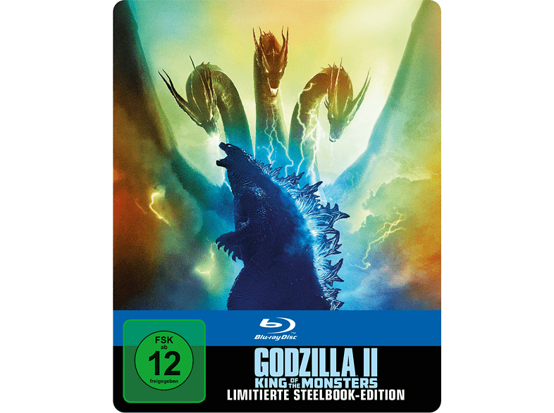 Godzilla II: King Of The Monsters (Exklusives Steelbook)  [Blu-ray]
