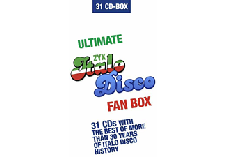 VARIOUS - Ultimate Italo Disco Fan Box  - (CD)