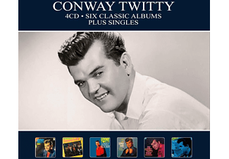 Conway Twitty - SIX CLASSIC ALBUMS +..  - (CD)