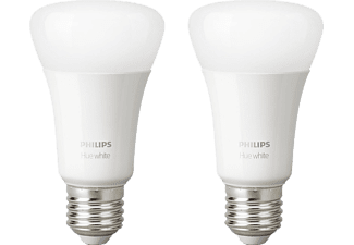 PHILIPS Hue White E27 - Lampadina (Bianco)