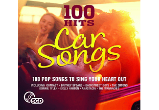 VARIOUS - Car Songs - 100 Pop Songs To Sing Your Heart Out  - (CD)