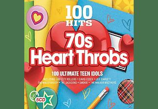 VARIOUS - 100 Hits-70's Heart Throbs  - (CD)