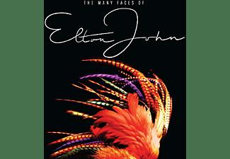 VARIOUS - Many Faces Of Elton John  - (CD)