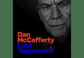 Dan Mccafferty - Last Testament  - (CD)