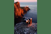 CANON PowerShot G7 X Mark III Digitalkamera Silber/Schwarz, 20.1 Pixel, 4.2 fach opt. Zoom, Touchscreen- LCD (TFT)
