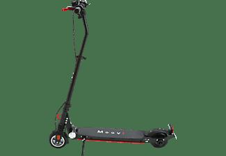 MOOVI ES145A STVO E-Scooter (5,7 Zoll, Schwarz/Rot)