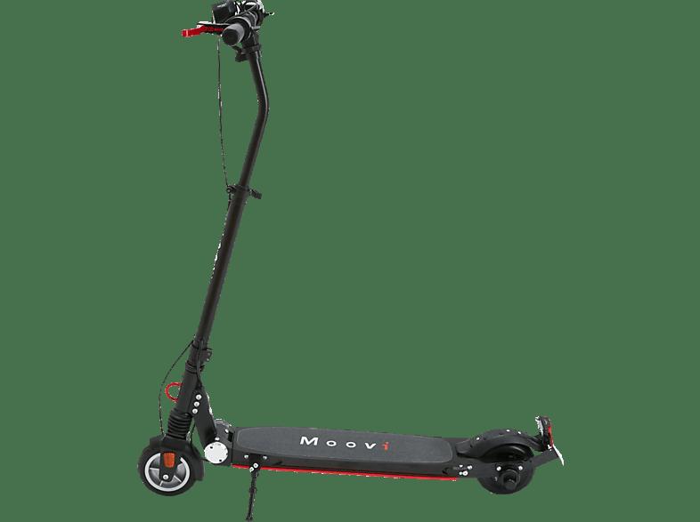 MOOVI ES145A STVO E-Scooter (5,7 Zoll, Schwarz/Rot) für 298,85€ statt 445€