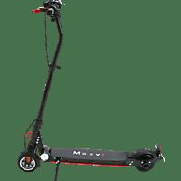 MOOVI ES145A STVO E-Scooter (5.7 Zoll, Schwarz/Rot)