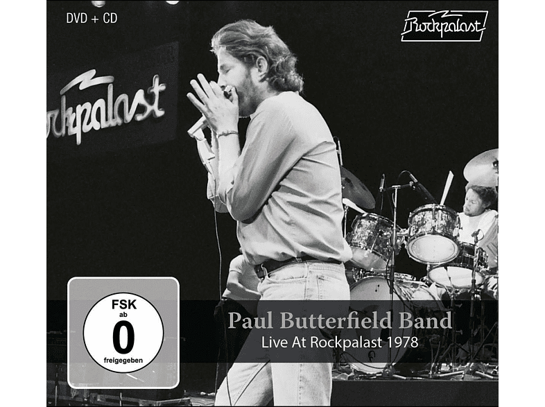 Paul Butterfield Band - Live At Rockpalast 1978 [CD + DVD Video]
