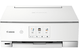 CANON Multifunktionsdrucker PIXMA TS8351, Hellgrau, Tinte (3775C026)