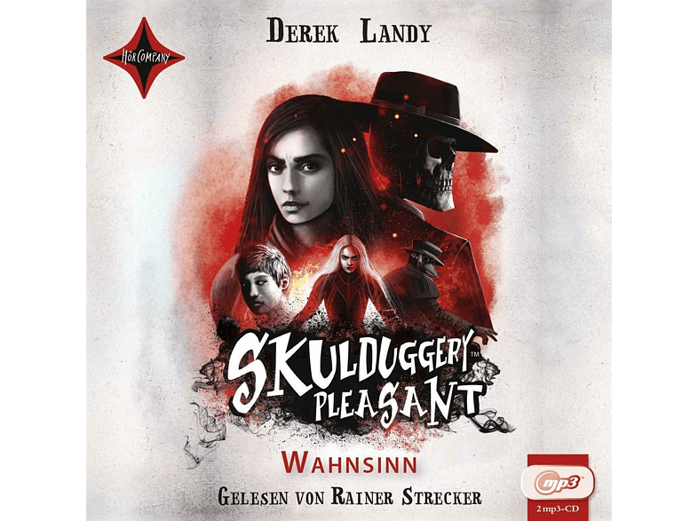 Skulduggery Pleasant - Wahnsinn - (MP3-CD)