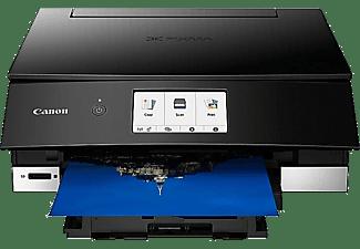 CANON Multifunktionsdrucker PIXMA TS8350 schwarz, Tinte (3775C006)