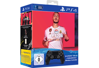 SONY DUALSHOCK 4 Wireless-Controller Jet Black: EA Sports FIFA 20 Bundle Controller} Schwarz