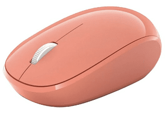 Ratón inalámbrico - Microsoft RJN-00039, Para PC, Bluetooth, Sistema óptico, Rosa