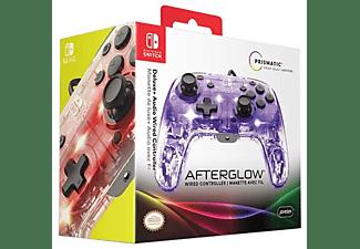 Mando - PDP Afterglow Deluxe, Para Nintendo Switch, Con Cable, Retroiluminado, Gris