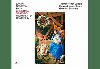Thomaskantor Gotthold Schwarz, Thomanerchor Leipzig, Gewandhausorchester - J.S.Bach: Weihnachtsoratorium  - (CD)