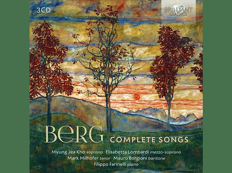 VARIOUS - Berg:Complete Songs [CD]