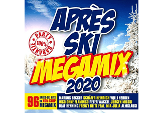 VARIOUS - APRES SKI MEGAMIX 2020  - (CD)
