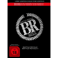 Battle Royale 1+2-4-Disc Movie Edition im Mediab [Blu-ray]