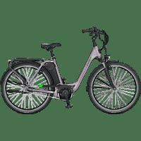 PROPHETE GENIESSER e9.7 Citybike (28 Zoll, Wave, 417.5 Wh, Grau)