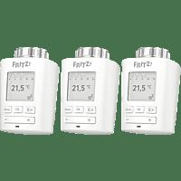 AVM FRITZ!DECT 301 3er Pack Heizkörperthermostat, Weiß