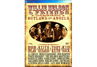 Willie Nelson, VARIOUS - Nelson, Willie & Friends, Outlaws And Angels  - (DVD)