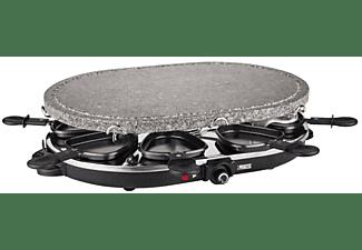 Raclette - Princess 162720 Potencia 1200W, Superficie mixta de piedra, Desmontable