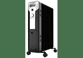 Radiador - Cecotec Ready Warm 5670 Space 360º, de Aceite, 2000W, Negro e inox