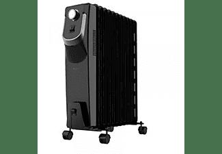 Radiador - Cecotec Ready Warm 5870 Space 360º, de Aceite, 2500W, Negro