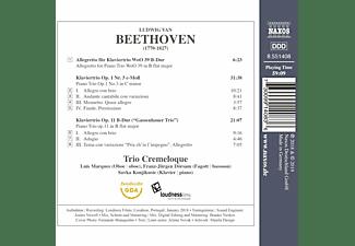 Trio Cremeloque - Klaviertrios  - (CD)
