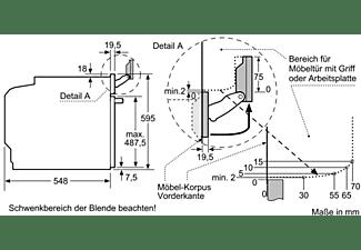 SIEMENS HS658GXS7 Backofen (Einbaugerät, A+, 71 Liter, 594 mm breit)