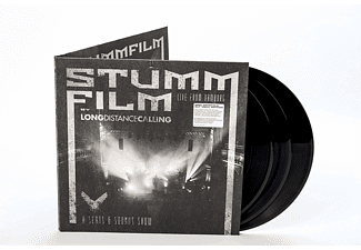 Long Distance Calling - STUMMFILM-Live from Hamburg  - (Vinyl)